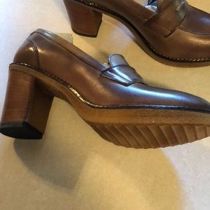251d5104240 Shoes - British Passport penny loafer leather heeled shoe